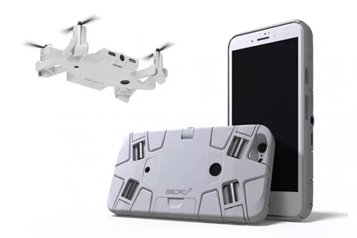 پهپاد سلفیگیر که میتواند تبدیل به قاب گوشی شما بشود!