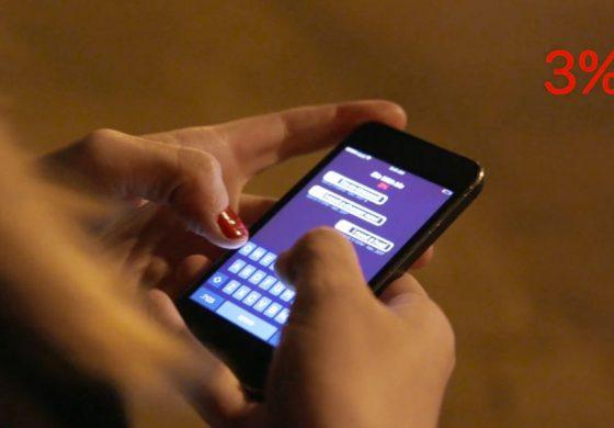 اپلیکیشن چت عجیبی که تنها هنگامی کار میکند که شارژ تلفن همراهتان کم باشد!