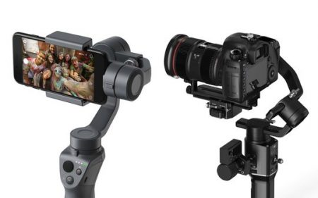 dji osmo 2 and ronin s