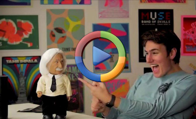 آشنایی با ربات آلبرت انیشتین با هوش مصنوعی بالا (ویدئو اختصاصی)
