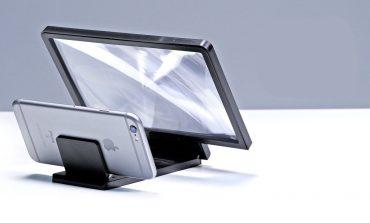 ذرهبینی برای صفحهنمایش گوشیهای هوشمند با بزرگنمایی 300 درصد