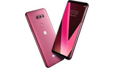 نسخه جدیدی از گوشی الجی V30 با رنگ ویژه در نمایشگاه CES 2018 رونمایی خواهد شد