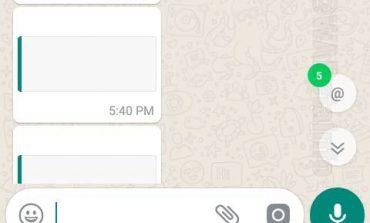 واتساپ قابلیت جدیدی را برای تگ کردن کاربران عرضه میکند