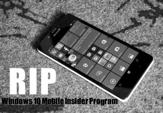 ویندوز 10 موبایل به آخر خط رسید؛ برای خداحافظی آماده باشید!