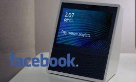 گزارشاتی مبنی بر تولید اسپیکرهای هوشمند دارای صفحه نمایش توسط فیسبوک منتشر شد