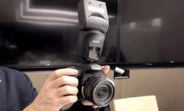 هوش مصنوعی در فلاش جدید کانن به کمک عکاسان مبتدی میآید