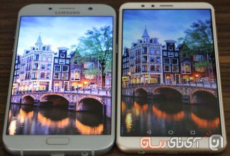 Galaxy-A7-2017-VS-Honor-7X-Mojtaba-1-450x305 مقایسه گلکسیA7 سامسونگ با آنر 7X: بالاردهها!