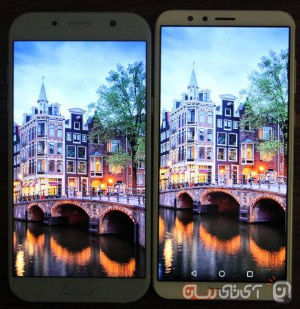 Galaxy-A7-2017-VS-Honor-7X-Mojtaba-16-437x450 مقایسه گلکسیA7 سامسونگ با آنر 7X: بالاردهها!