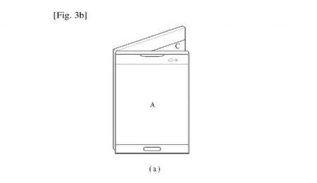 LG-Foldable-Display-Device-WIPO-3-800x463-450x260 پتنت جدید الجی یک اسمارتفون منعطف با نمایشگر سه صفحهای را نشان میدهد