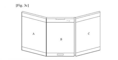 LG-Foldable-Display-Device-WIPO-4-800x409-450x230 پتنت جدید الجی یک اسمارتفون منعطف با نمایشگر سه صفحهای را نشان میدهد