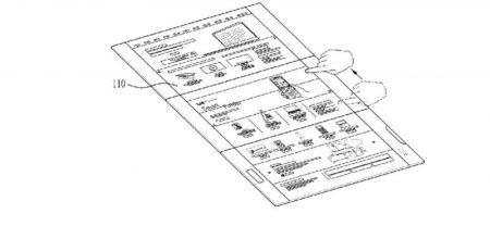LG-Foldable-Display-Device-WIPO-8-800x369-450x208 پتنت جدید الجی یک اسمارتفون منعطف با نمایشگر سه صفحهای را نشان میدهد