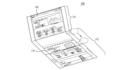 LG-Foldable-Display-Device-WIPO-9-800x432-450x243 پتنت جدید الجی یک اسمارتفون منعطف با نمایشگر سه صفحهای را نشان میدهد