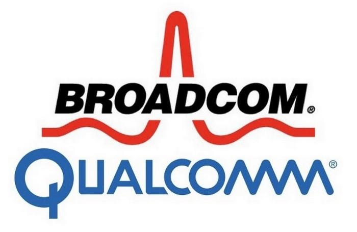 broadcom-qualcomm - برودکام و کوالکام