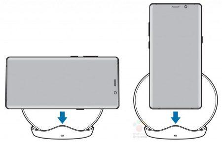 galaxy-S9-wireless-charger-2-450x289 سامسونگ یک شارژر وایرلس جدید به همراه گلکسی S9 معرفی میکند