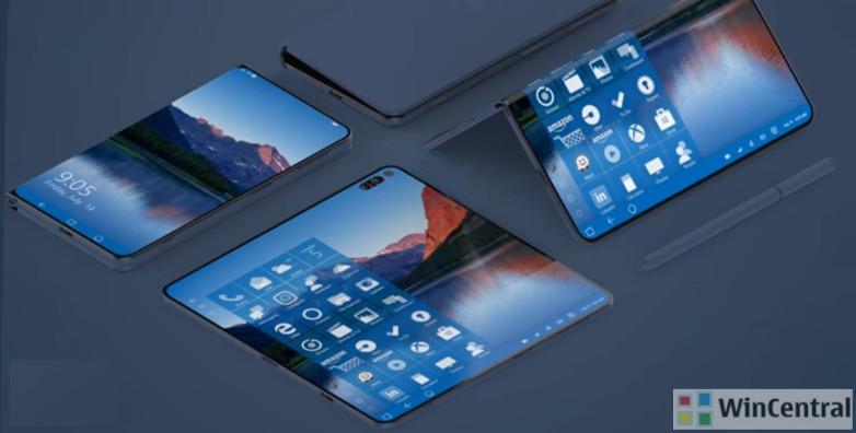 microsoft-surface-phone-foldable-phone-concept-1 درخواست طرفداران از مایکروسافت: لطفا ساخت سرفیسفون را کنسل نکن!