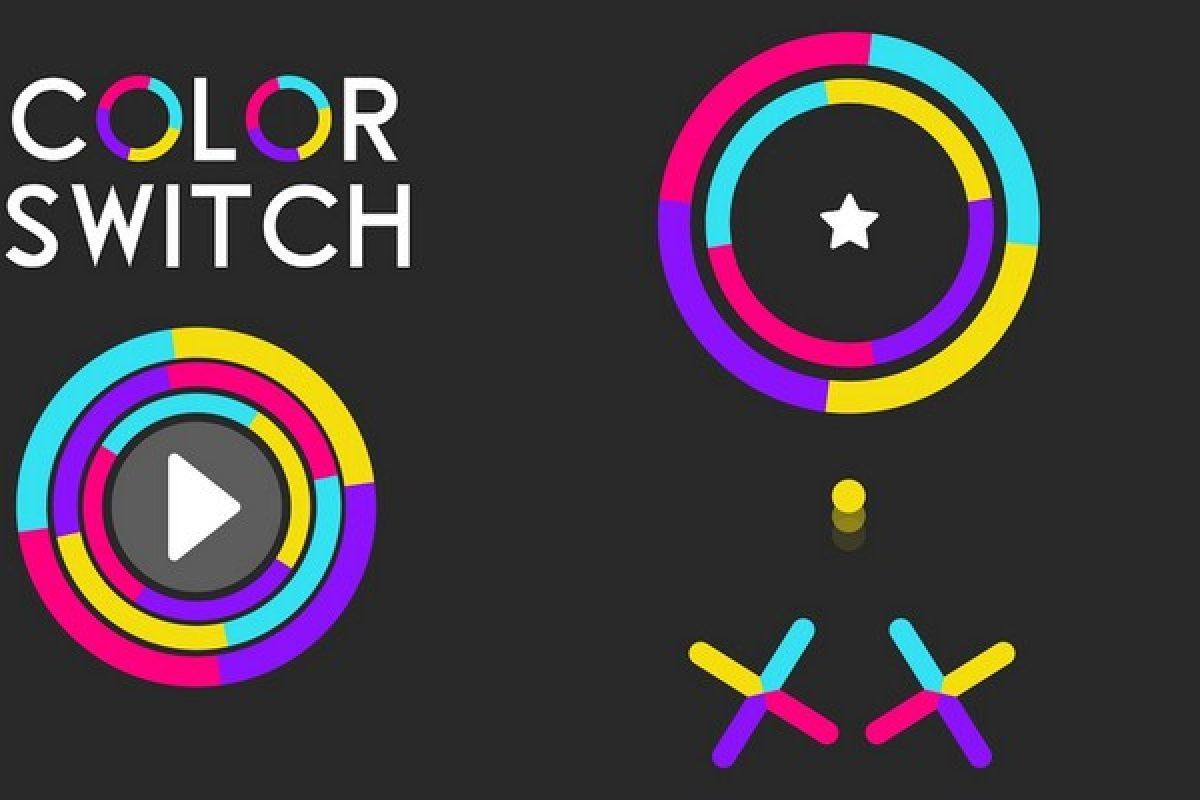 بررسی بازی Color Switch؛ مثل یک رنگینکمان هفت رنگ!