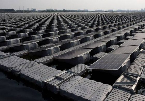 اولین مزرعه خورشیدی شناور بر روی اقیانوس در هلند ساخته میشود