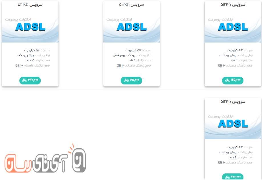کدام سرویس اینترنت ADSL مخابرات مناسب است؟ + لیست قیمت 97
