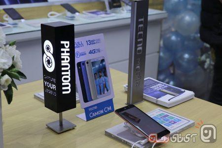 TECNO-Mobile-1-450x300 فروشگاه رسمی تکنو موبایل در ایران افتتاح شد