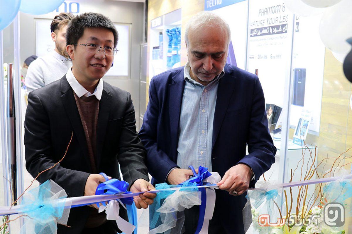 فروشگاه رسمی تکنو موبایل در ایران افتتاح شد