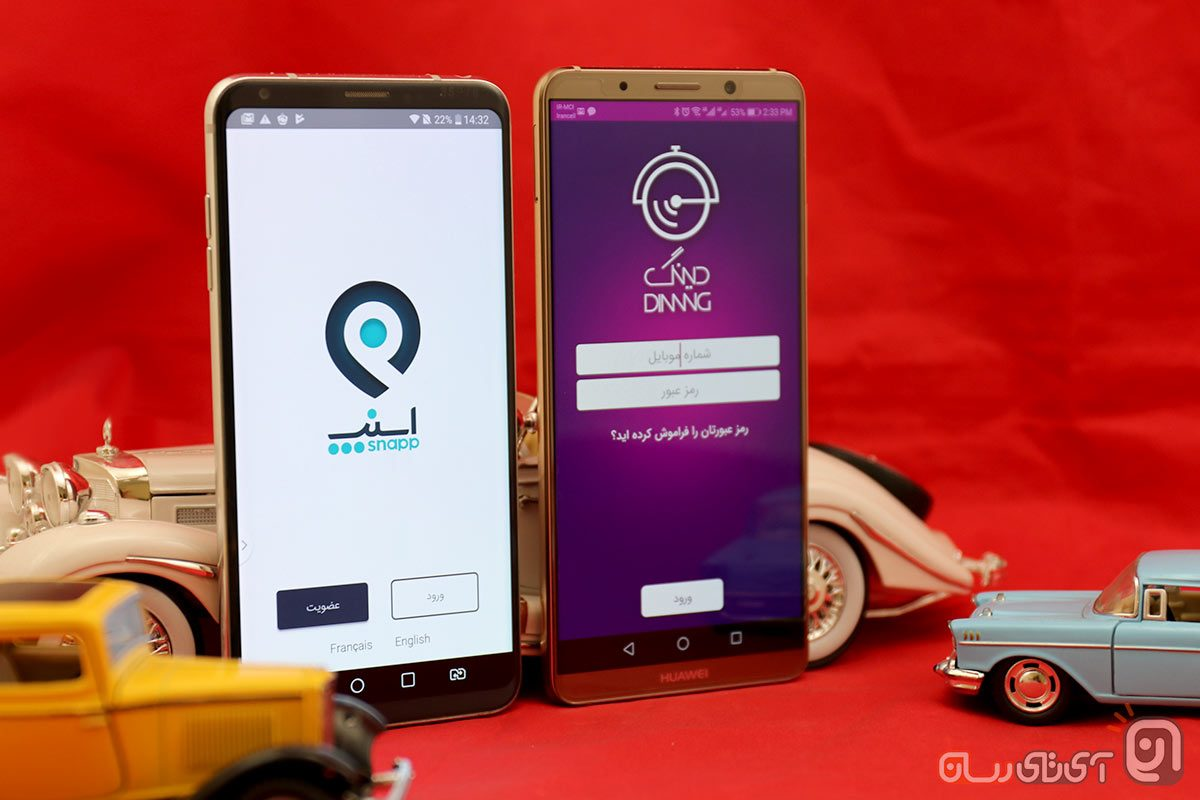 مقایسه اپلیکیشن اسنپ و دینگ: از کدام یک سرویس بگیریم؟