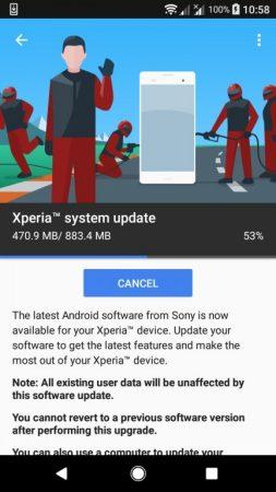 gsmarena_001-5-253x450 بهروزرسانی اندروید اوریو برای گوشیهای خانواده اکسپریا XA1 سونی منتشر شد