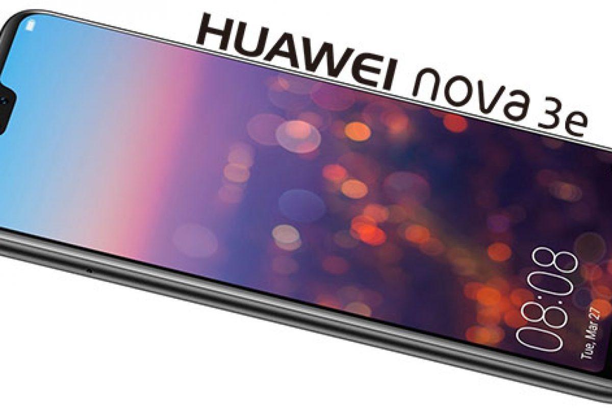 هواوی نوا ۳e با دوربین دوگانه و طراحی مشابه آیفون X بهزودی معرفی میشود
