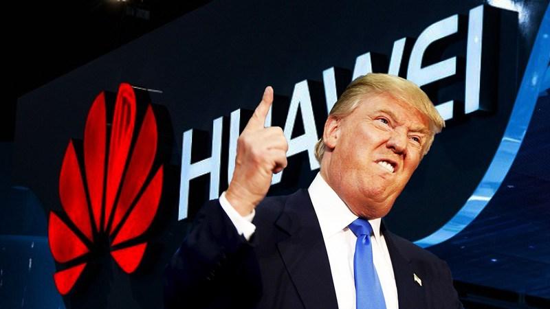 Huawei-Trump ترامپ آماده امضای فرمانی اجرایی برای عدم استفاده از محصولات مخابراتی هواوی و ZTE