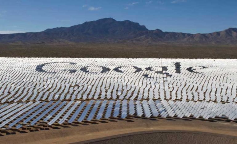 گوگل به هدف خود برای استفاده 100 درصدی از انرژیهای تجدیدپذیر دست یافت