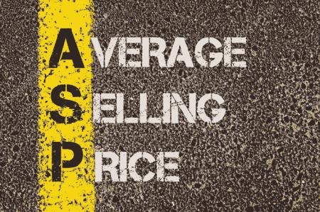 میانگین قیمت فروش