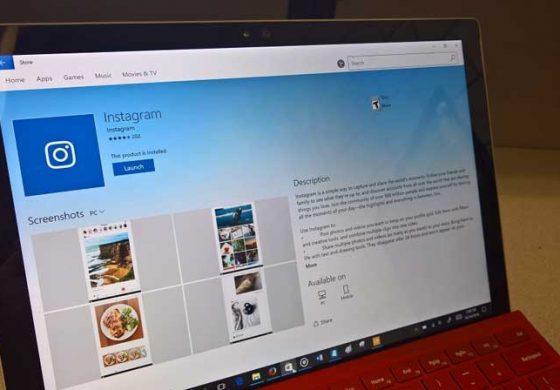 بهروزرسانی نسخه دسکتاپ اینستاگرام مخصوص ویندوز 10 با قابلیتهای جدید منتشر شد
