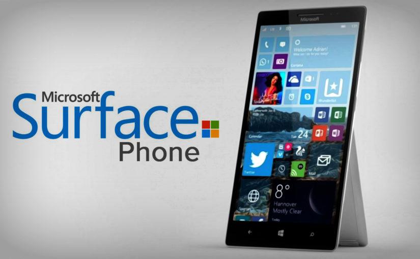 ms-surface-phone مایکروسافت در حال کار بر روی یک سرفیس است که در جیبتان جا میشود!