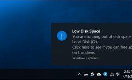 نحوه غیرفعال کردن هشدار Low Disk Space در ویندوز