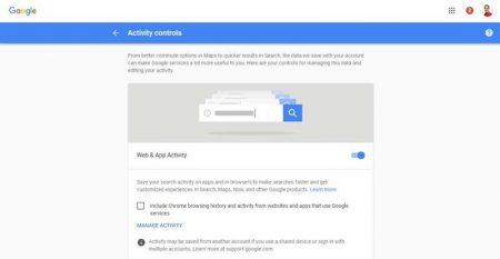 3-4-450x233 چگونه تاریخچه تمام فعالیتهای خود را در گوگل حذف کنیم؟