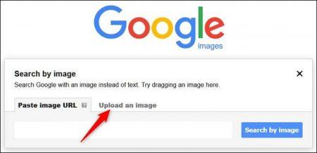 ClickUpload-450x217 چگونه در گوگل جستجوی تصویری داشته باشیم؟!