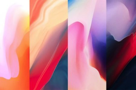 Download-all-the-official-new-OnePlus-6-wallpapers-right-here-450x300 دانلود رایگان پسزمینههای اورجینال گوشی جدید وانپلاس 6 با کیفیت اولترا اچدی