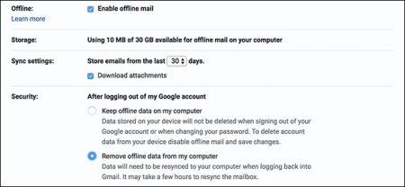 Gmail-450x208 چگونه حالت پشتیبانی آفلاین در جیمیل را فعال کنیم؟
