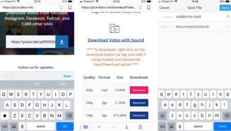Save-YouTube-Videos-on-iPhone-450x255 چگونه ویدئوهای یوتیوب را روی آیفون دانلود و ذخیره کنیم؟