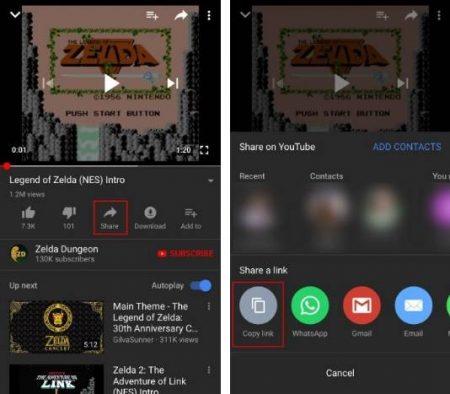 YouTube-iOS-Share-450x394 چگونه ویدئوهای یوتیوب را روی آیفون دانلود و ذخیره کنیم؟