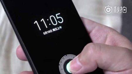 xiaomi-mi-8-450x253 شیائومی Mi 8 با اسکنر اثر انگشت زیر نمایشگر در یک ویدئو ظاهر شد!