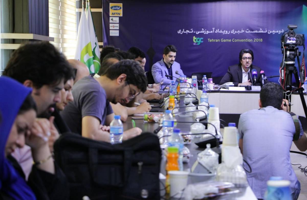4-4 حضور گسترده ناشران و سخنرانان خارجی در رویداد tgc2018