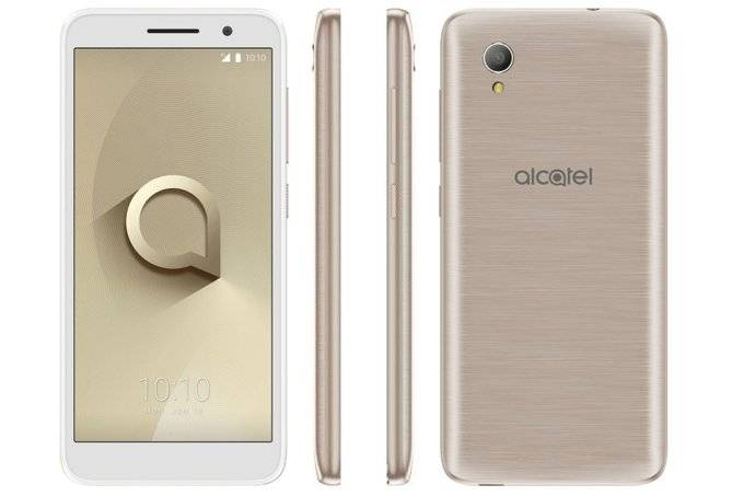 Alcatel-1-goes-official-as-one-of-the-cheapest-Android-Go-phones-on-the-market آلکاتل 1 به عنوان ارزان قیمتترین گوشی مجهز به اندروید Go روانه بازار میشود