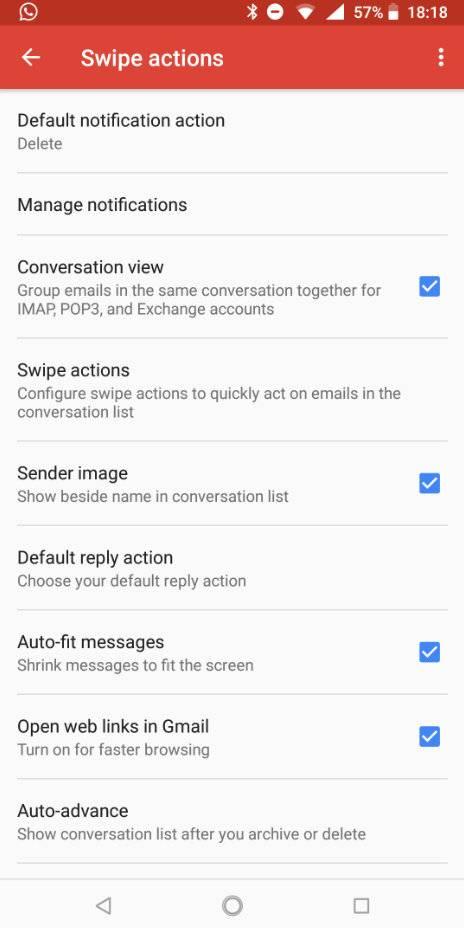 Gmail قابلیتهای حرکتی جدید در آخرین بهروزرسانی نرمافزار Gmail