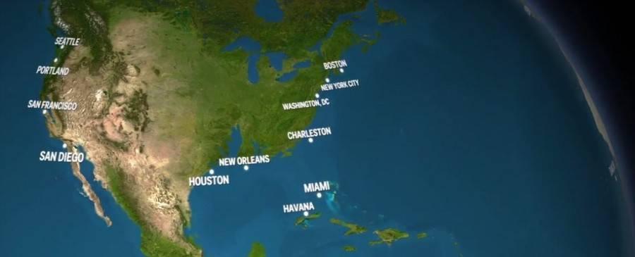 Ice-melt اگر همه یخها آب شوند، سیاره زمین چه شکلی خواهد شد؟! (به همراه ویدیو)