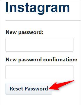 Reset-Your-Password-From-The-Website-2 چگونه رمز عبور فراموش شده اینستاگرام را بازیابی کنیم؟!
