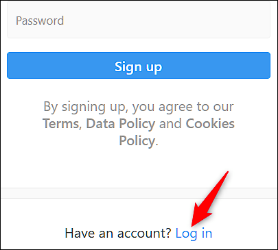 Reset-Your-Password-From-The-Website چگونه رمز عبور فراموش شده اینستاگرام را بازیابی کنیم؟!