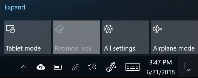 Rotation-Lock-Grayed-Out نحوه غیرفعال کردن چرخش خودکار صفحه در ویندوز 10