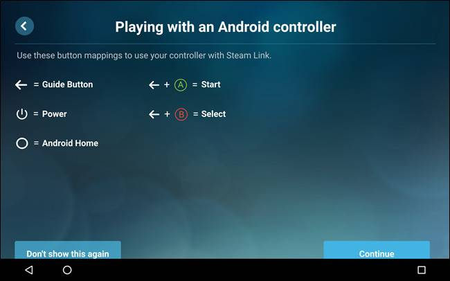 Steam-Link-8 آموزش استریم بازیهای کامپیوتری استیم در اندروید با Steam Link