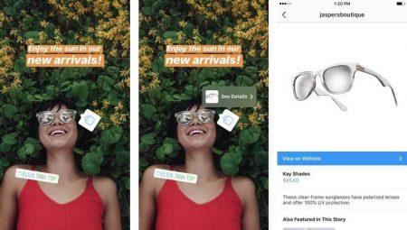 instagram_shoppable_stories-450x255 اینستاگرام پای خرید اینترنتی را به استوریهای خود نیز کشاند!