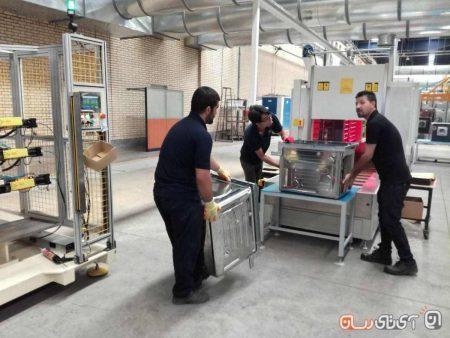 pakshooma13-450x338 پاکشوما از خط تولید ماشین ظرفشویی اتوماتیک در ایران رونمایی کرد